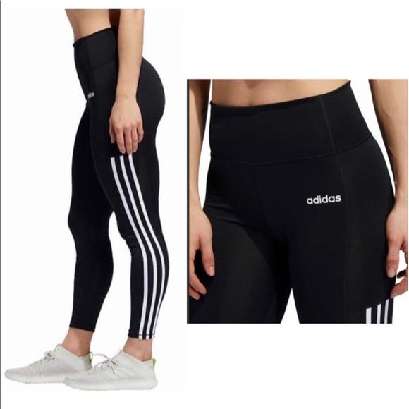 adidas Pants - Adidas 7/8 3-Stripe Active Tight / Legging - NWT